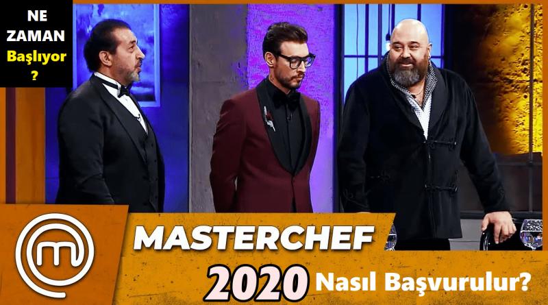 MasterChef 2020 Başvuru