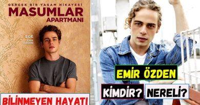 Masumlar Apartmanı dizisinde Ege karakterini canlandıran isim gerçekte kim?