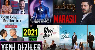 Bu yazımızda 2021 yılında çıkan Türk dizileri hangileri? Yeni dizi haberleri var mı? Yeni Türk dizileri çıktı mı? 2020-2021 dizileri neler? Yeni çıkan dizi fragmanları gibi bir çok konuya değineceğiz. Başlayacak olan ve başlamış dizileri bir araya getirdik.