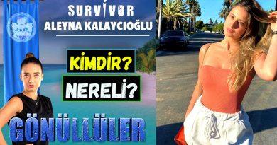 Survivor 2021'de Gönüllüler takımında yarışan Aleyna Kalaycıoğlu kimdir ve nereli? Kaç yaşında? Hakkında Bilgiler. Vikipedi bilgileri. Biyografisi. İnstagram adresi ne?