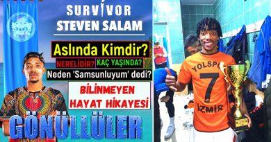Survivor 2021 yarışmacısı ve futbolcu Steven Salam kimdir ve nereli? Kaç yaşında ve boyu. Evli mi? Bekar mı? Neden 'Samsunluyum' dedi?