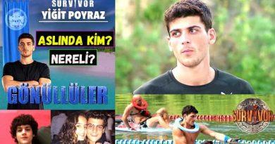 Survivor 2021 yarışmacısı Poyraz kimdir ve nereli? Yiğit Poyraz kaç yaşında? Burcu, boy ve kilo bilgileri. İnstagram adresi. Biyografisi.
