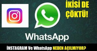 İnstagram ve WhatsApp çöktü. Vatandaşlar WhatsApp ne zaman düzelecek ve İnstagram arızası ne zaman bitecek gibi soruları arama motorlarında yoğun şekilde aramaya başladı! Peki İnstagram ve WhatsApp neden çöktü? İnstagram ve WhatsApp neden açılmıyor?