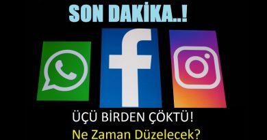 facebook instagram whatsapp çöktü son dakika